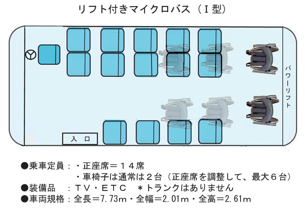 マイクロリフト座席 Ⅰ型